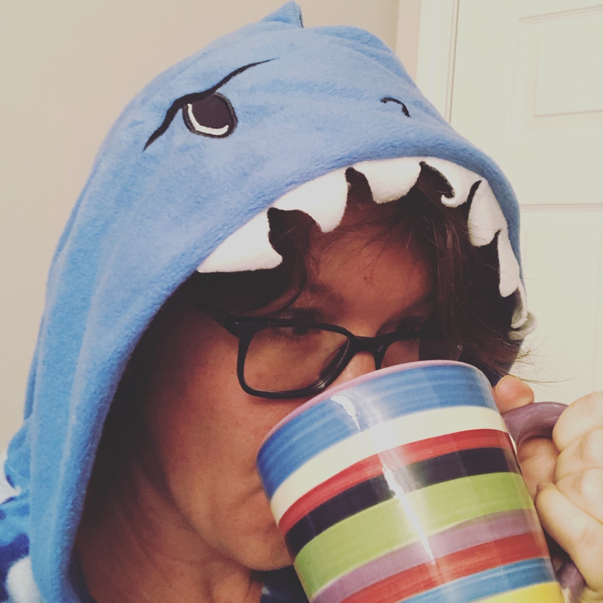 The Shark Stands Alone (with coffee)